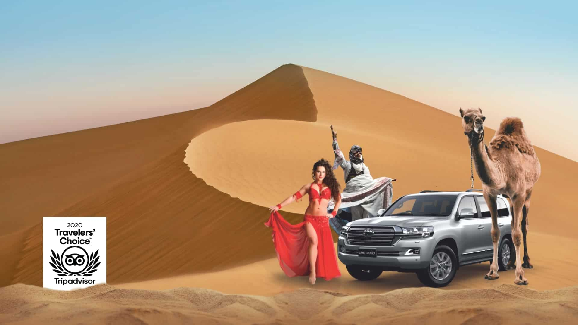 Other than seeing the animals of the desert on your desert safari, the desert safari will give you the opportunity to see the amazing scenery of Dubai. A well