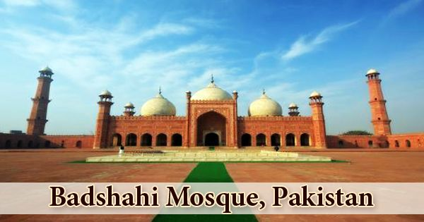 All About Badshahi Mosque, Pakistan-Zoefact