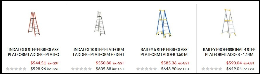 Points to consider while buying platform ladders