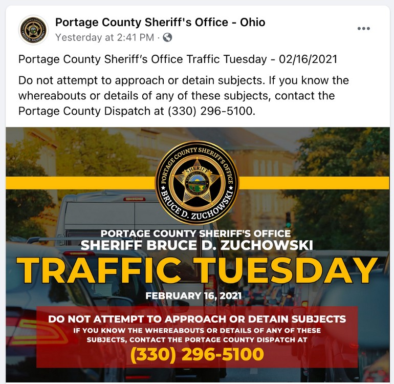 Sheriff's office 'wanted posters' for traffic tickets raise ethical concerns over public shaming
